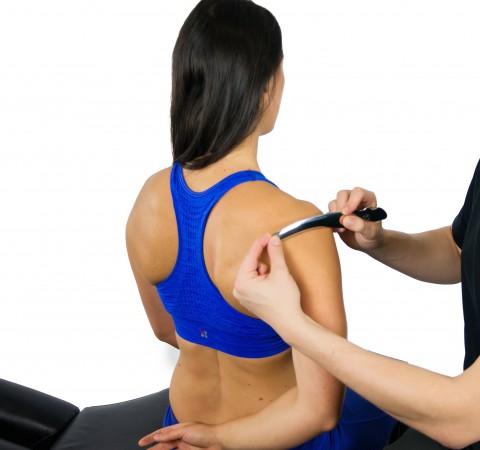 Scanning technique of deltoid