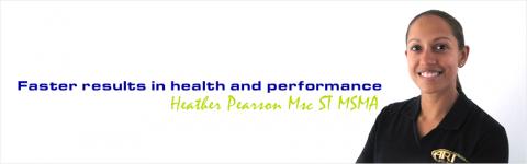 IASTM practitioner Heather Pearson